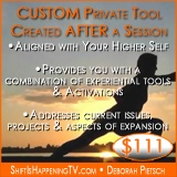 Custom Private Tool - After Private Session - Shift is Happening