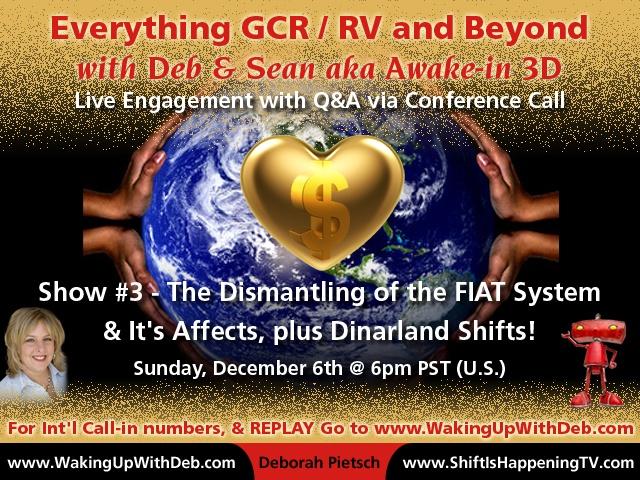 GCR : RV Activation Conference Call #3 Dec 06 2015
