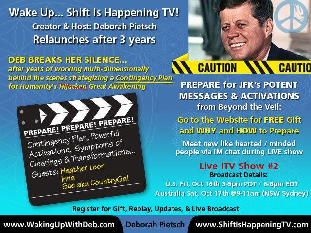 JFK - Prepare for JFK's potent mesages - Deborah Pietsch