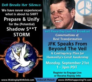 Peace Day - JFK Speaks - Deborah Pietsch