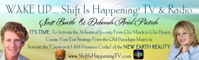 Wake Up Shift Is Happening header Deb & Scott
