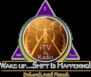 Wake Up Shift Is Happening triangle logo
