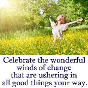 Winds of Change - woman in field