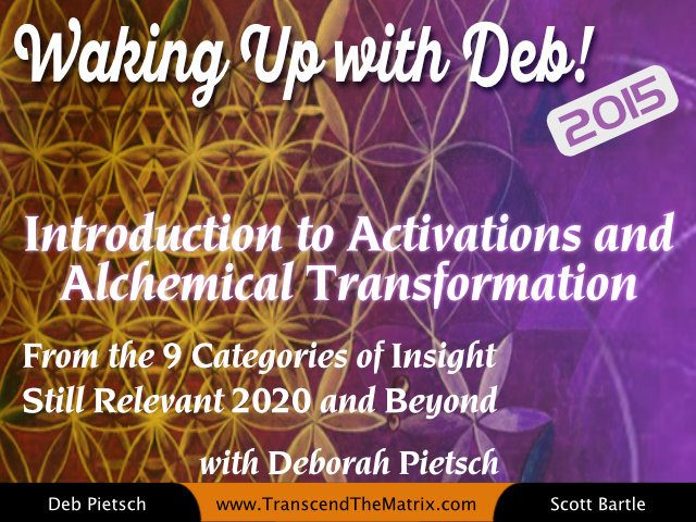 Intro to Activations and Alchemical Transformation with Deborah Pietsch