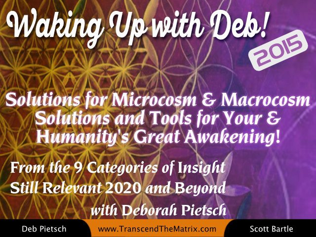 Solutions for Microcosm & Macrocosm Solutions and Tools for Your & Humanity's Great Awakening