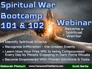 Webinar - Spiritual War Bootcamp 101 & 102