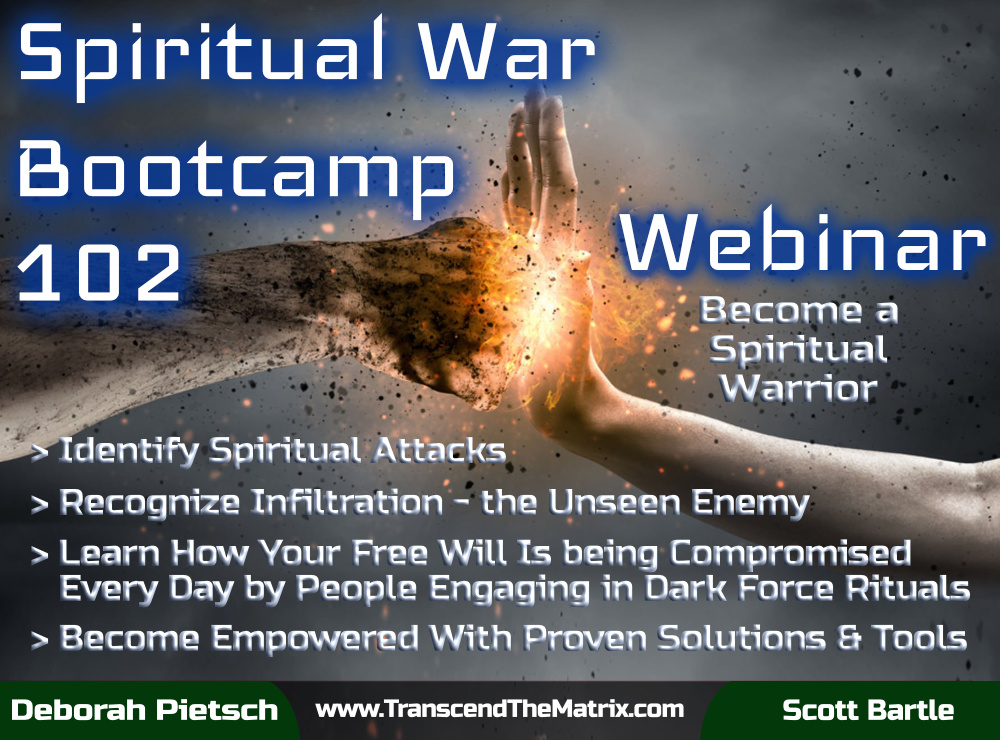 Webinar - Spiritual War Bootcamp 102