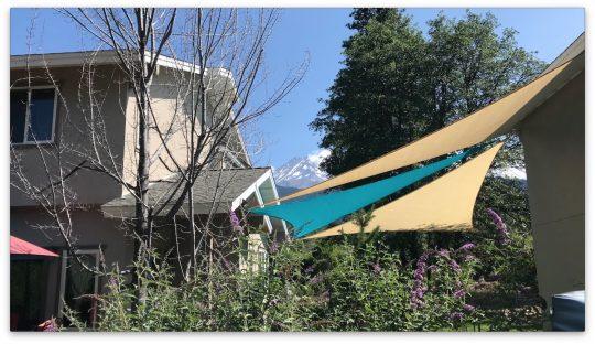 Mt Shasta Retreat Center - Shade Sails