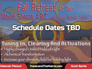 Mt Shasta Fall Retreat 2021