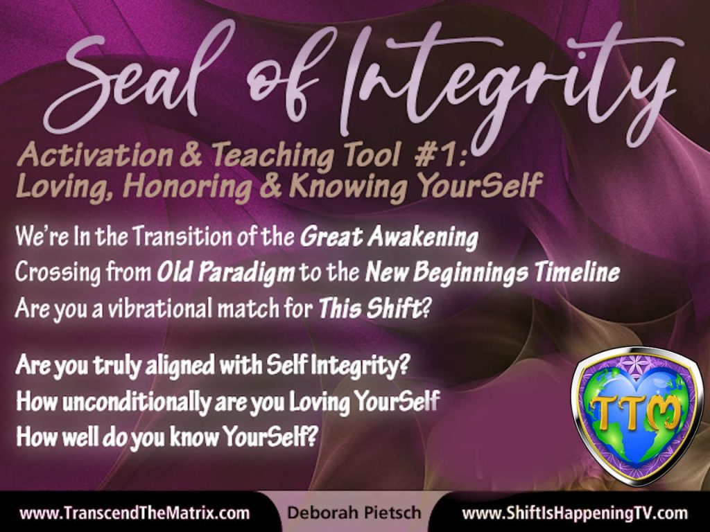 Activation & Teaching Tool #1 - Loving Honoring & Knowing YourSelf